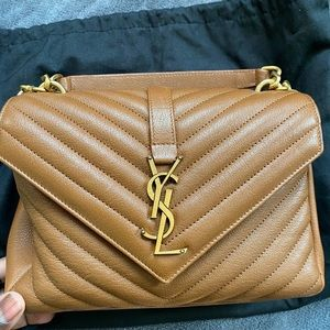 AUTHENTIC YSL COLLEGE CROSSBODY/HANDBAG.